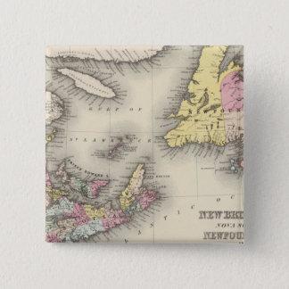 New Brunswick, Nova Scotia, Newfoundland Button
