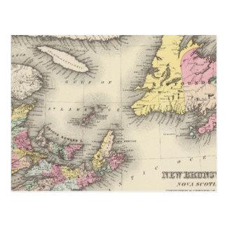 New Brunswick, Nova Scotia, Newfoundland Postcard
