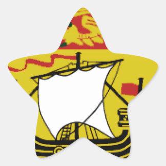 New Brunswick Star Sticker