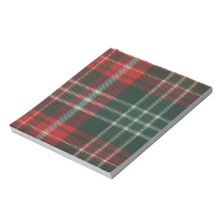 New Brunswick Tartan Notepad