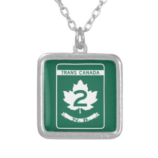 New Brunswick, Trans-Canada Highway Sign Necklaces