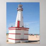 New Buffalo Lighthouse Poster