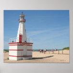 New Buffalo Lighthouse Print
