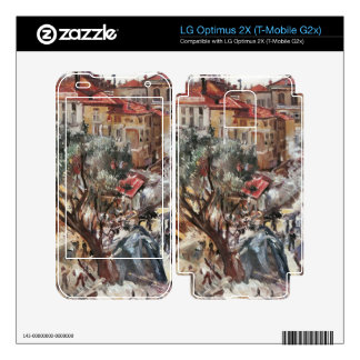 New building in Monte Carlo by Lovis Corinth Skin For LG Optimus 2X