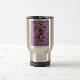 New Bundle of Joy! Purple back, purple dinosaur Travel Mug