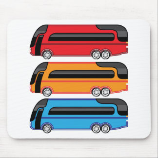 New Bus Mouse Pad
