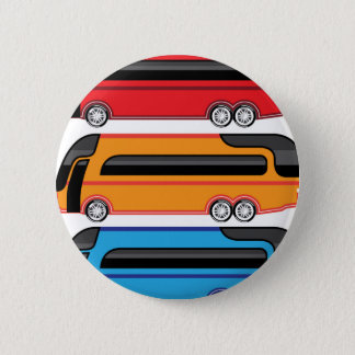 New Bus Pinback Button