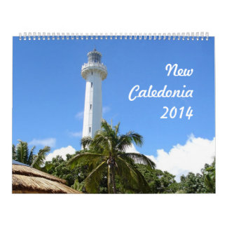 New Caledonia 2014 (2p) Calendar