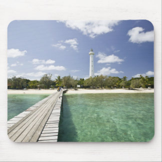 New Caledonia, Amedee Islet. Amedee Islet Pier. Mouse Pad
