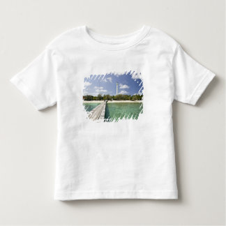 New Caledonia, Amedee Islet. Amedee Islet Pier. Toddler T-shirt
