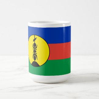 new caledonia flag mugs