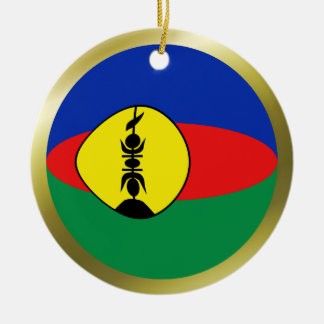 New Caledonia Flag Ornament