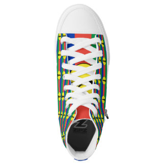 NEW CALEDONIA FLAG --.png High-Top Sneakers