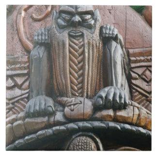 New Caledonia, Grande Terre Island, Noumea. 3 Ceramic Tiles