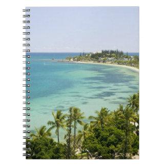 New Caledonia, Grande Terre Island, Noumea. Anse 2 Notebook
