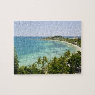 New Caledonia, Grande Terre Island, Noumea. Anse 2 Puzzle
