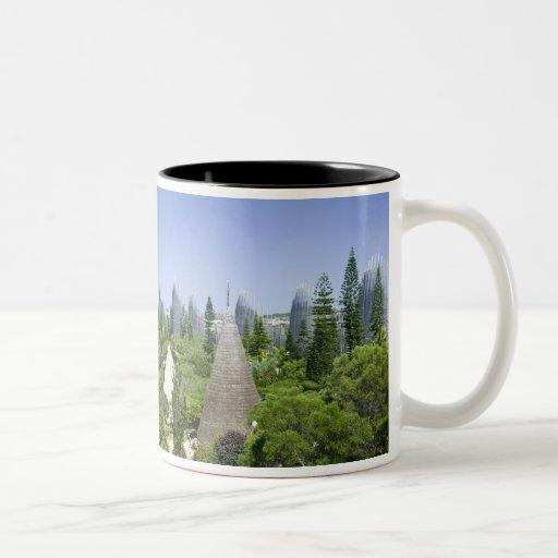 New Caledonia, Grande Terre Island, Noumea. Coffee Mugs