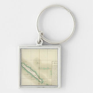 New Caledonia Oceania no 46 Key Chain