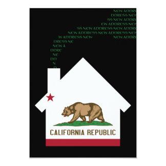 new california address card