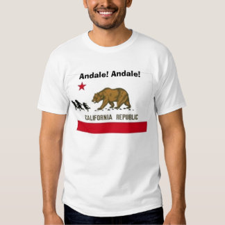 New California State Flag T Shirt