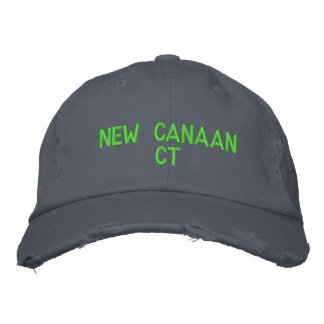 NEW CANAAN CT - EMBROIDERED CAP