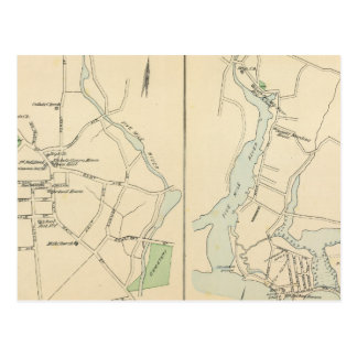 New Canaan, Rowayton Postcard