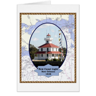 New Canal Lighthouse greeting card
