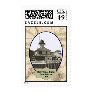 New Canal Lighthouse Stamp