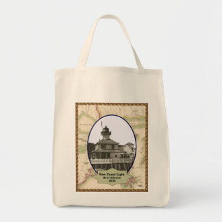 New Canal Lighthouse tote bag