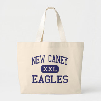 New Caney Eagles Middle School Porter Texas Large Tote Bag