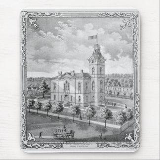 New Castle Court House 1875 Mouse Pad