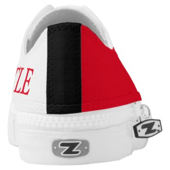 New Castle Custom Colors Low Top Sports Shoe Printed Shoes by CREATIVESPORTS at Zazzle