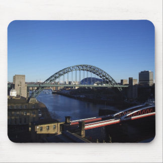 New Castle England Mouse Pad