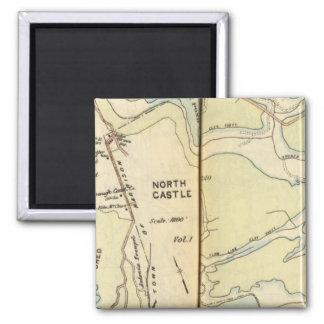 New Castle, New York 3 Magnet