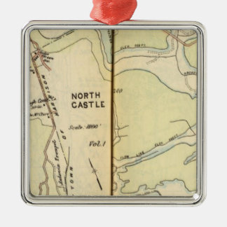 New Castle, New York 3 Ornament
