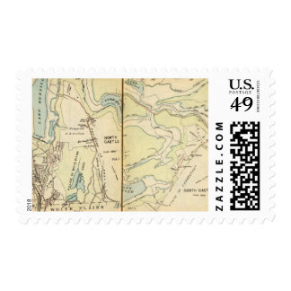 New Castle, New York 3 Postage Stamp