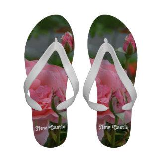 New Castle Rose Garden Flip-Flops