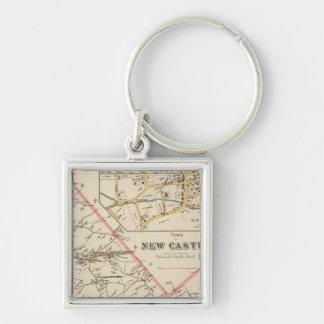 New Castle town Key Chains