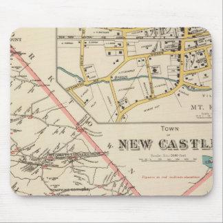 New Castle town Mouse Pad