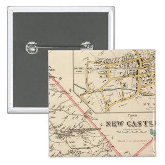 New Castle town Pinback Button