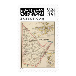 New Castle town Postage Stamps