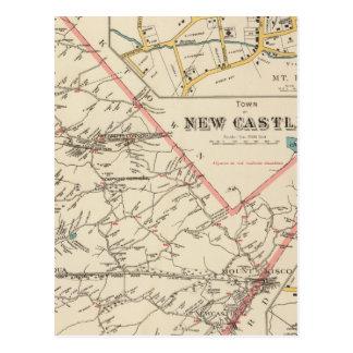 New Castle town Postcards