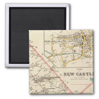 New Castle town Refrigerator Magnets
