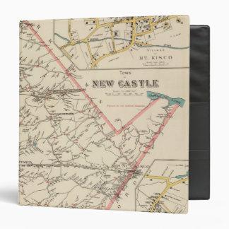 New Castle town Vinyl Binders