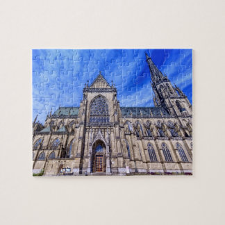 New Cathedral, Linz, Austria Jigsaw Puzzle