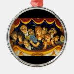 New Century Opera Round Metal Christmas Ornament