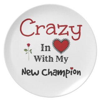 New Champion Melamine Plate