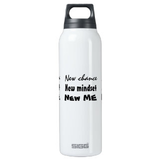 New Chance New Me Motivational Thermos Bottle