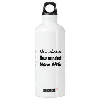 New Chance New Me Motivational Water Bottle
