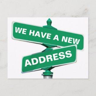 New Change Of Address Postcard